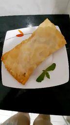 Pastel de Mussarela com Orégano - 23cm