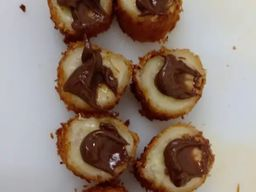 Banana Com Nutella - 8 Unidades