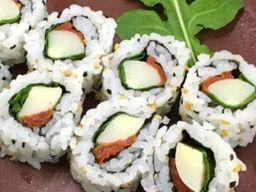 Uramaki Caprese Vegan - 8 Unidades