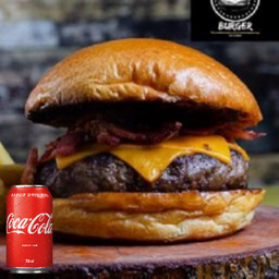 Combo Black Bacon + Coca-Cola 350ml
