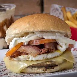 Cheese Egg Bacon Gourmet