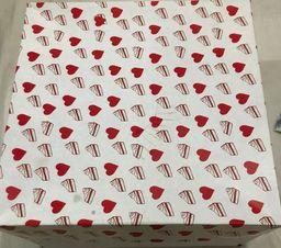 Caixa de Presente para Bolos