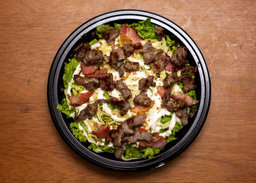Salada Caesar de Carne