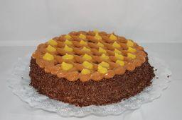 Torta de Brigadeiro com Baba de Moça - 15cm