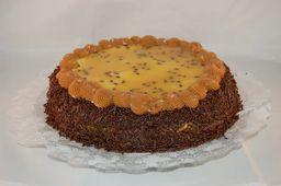 Torta de Brigadeiro com Maracujá - 15cm