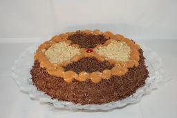 Torta de Brigadeiro com Nozes - 15cm