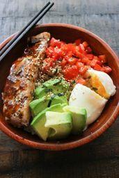 Bowl Fit Salmon