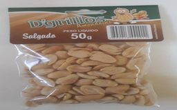 Amendoins sem Pele - 50g