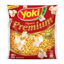 Milho Para Pipoca Yoki Premium - 500g
