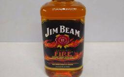 Bourbon Jim Beam Fire 1L