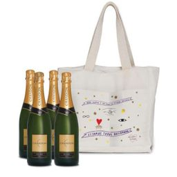 Champagne Chandon Brut 4 Uni + Bolsa Exclusiva - 322591
