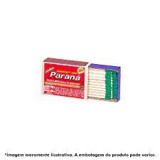 Fósforo Paraná Madeira - 40 Palitos
