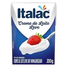 Creme de Leite Italac Leve 200g
