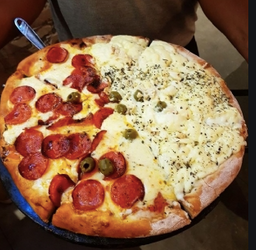 Pizza Meio a Meio - Big