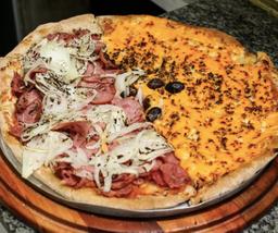 Pizza Meio a Meio - Família