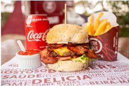 Combo 3 Bacon Burgers