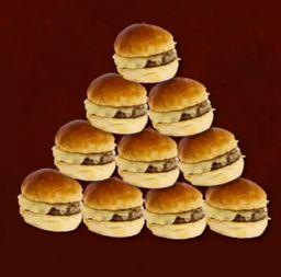 10 Cheese Burgers