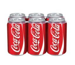 Pack Coca-Cola Original 350ml 6 Unidades