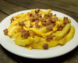 Fritas com Cheddar