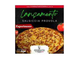 Pizza Salsiccia e Provola - Grande