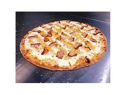 Pizza de Bacon com Calabresa - Grande