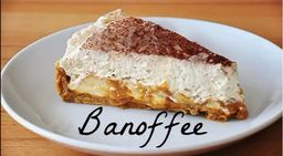 Banoffee Pie - Fatia