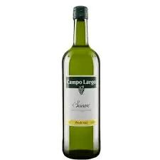 Vinho campo largo branco suave 750 ml