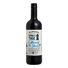Vinho almadén vintage cabernet shiraz meio seco 750 ml