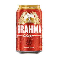 Cerveja brahma lata 350 ml