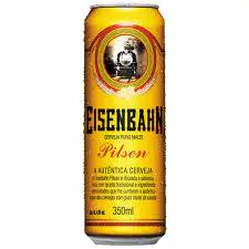 Cerveja eisenbahn lata 350 ml