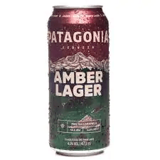 Cerveja patagônia latão 473 ml