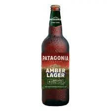 Cerveja patagonia  amber lager 740 ml
