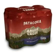Cerveja patagônia pack latão com 6,  473 ml