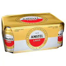 Cerveja amstel pack 12 350 ml