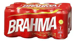 Cerveja brahma lata pack 12 350 ml