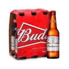 Cerveja budweiser long neck 6 pack 330 ml