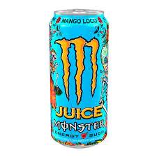 Energético monster energy juice mango loco 473ml