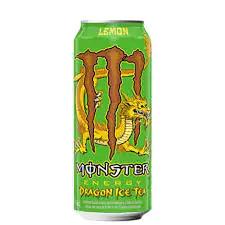 Energético monster lemon energy dragon ice tea 473 ml