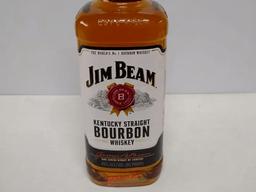 Whisky bourbon jim beam white 1 litro