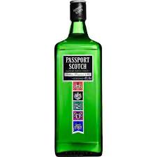 Whisky passport  1 litro