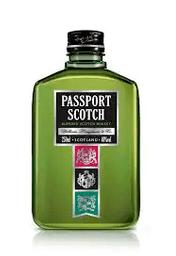 Whisky passport petaca 250ml