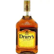 Whisky drury's 1 litro