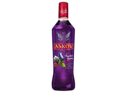 Vodka askov  frutas roxas 900 ml