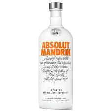 Vodka absolut mandrin 1 litro