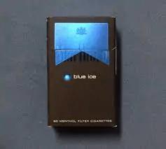 Blue ice box