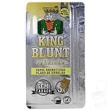 Blunt king sabor baunilha 5 unidades