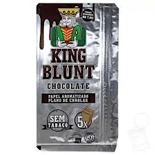 Blunt king sabor chocolate 5 unidades