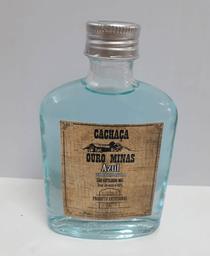 Cachaça ouro minas azul petaca 160 ml