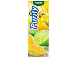Suco purity misto laranja, tangerina e limão 1 litro