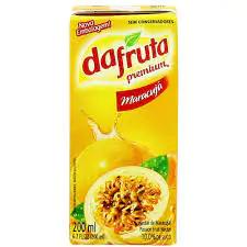 Suco dafruta nectar maracuja 1 litro